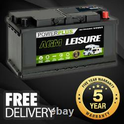 Electric Outboard AGM Leisure Battery AGMLP120 120ah 12v