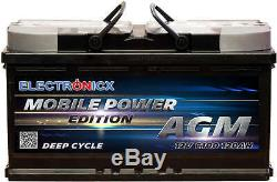 Electronicx Portable Edition Battery AGM 120AH 12V Supply Battery Leisure