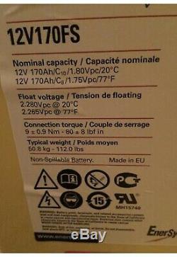 EnerSys PowerSafe 12V170FS