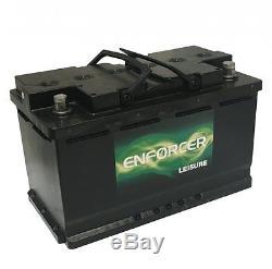 Enforcer 12V 110AH 110-AGM Leisure and Marine Battery Gel 110Ah