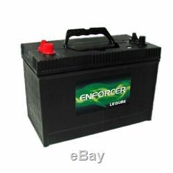 Enforcer Leisure/caravan Battery Dual Terminal 110ah 12v