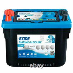 Exide Dual EP450 AGM starter, supply battery 12V 50Ah 450Wh