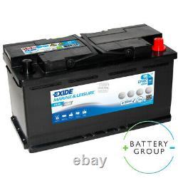 Exide Dual EP800 AGM Marine & Leisure starter, supply battery 12V 95Ah ON SALE