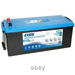 Exide Dual EP 2100 AGM leisure battery 12V 240Ah
