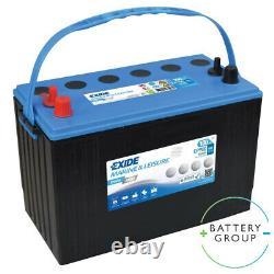 Exide Dual EP 900 AGM Marine & Leisure Battery 12V 100Ah