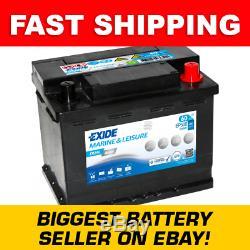 Exide EP500 DUAL AGM Leisure Marine Battery