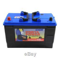 Exide ER550 679 Leisure & Marine Battery 115Ah 760cca 12V L349 x W175 x H239mm