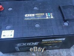 Exide ES2400 12V 210Ah Battery En (A)460 Leisure Battery Boat Caravan Solar Gel