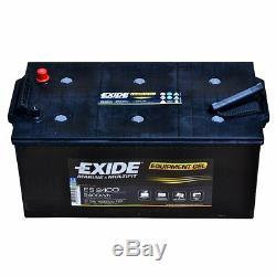 Exide Equipment Es2400 12v 210ah Starter Battery en (a) 460 Navy Boat Caravan