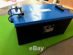 Exide Marine & Leisure Battery 2100wh + 30A 12V Charger + Cotek 12V Inverter