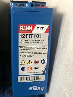 FIAMM 12V 101AH LEISURE SOLAR INVERTER BATTERY Ideal For Home Caravan-Boat Audio