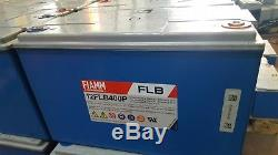 FIAMM FLB400 LEISURE/SOLAR/INVERTER BATTERY Ideal For Home/Caravan/Boats