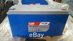 FIAMM FLB450 LEISURE/SOLAR/INVERTER BATTERY Ideal For Home/Caravan/Boats