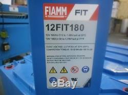 Fiamm 12fit180 Leisure/solar Power Batteries. 12v 180ah