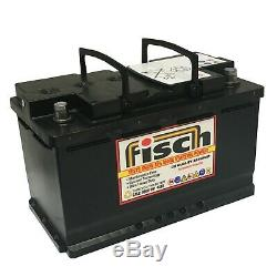 Fisch 110-agm Leisure And Marine Battery 12v 110ah 800cca Sealed