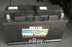 Fuller Caravan Leisure Battery 12v 110Ah Used But / 6 Months Old