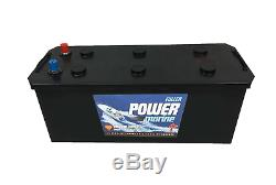 Fuller Powermarine Leisure/Marine Battery 12v 155Ah 815CCA