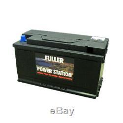 Fuller Powerstation Leisure/caravan Battery Lowcase 110ah 12v (6110)