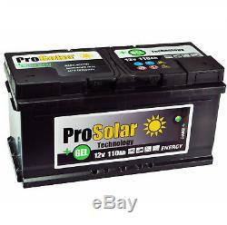 Gel Battery 110Ah Solar Battery 12V Prosolar Gel Wartungsfre Instead 120Ah 100Ah