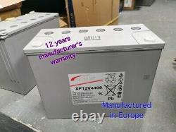 German AGM Gel 140Ah Quality Sealed Battery 12V marine UPS Caravan Leisure Solar