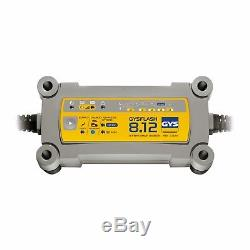 Gys Flash 12v 8a Electronic Smart Leisure Marine Battery Charger Optimiser