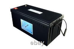 Haze 12v 222ah VRLA AGM Leisure Battery x4