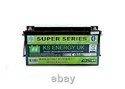 KS energy KS-LT150B 12V 150A Lithium leisure battery, High power Smart Bluetooth