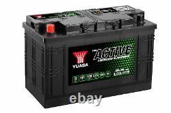 L35-115 Yuasa Active Leisure Battery 12V 115Ah 750A