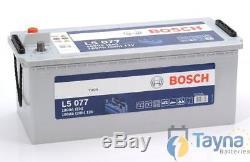 L5077 Bosch Leisure Battery 12V 180Ah L5 077