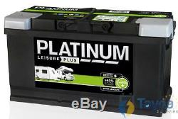 LB6110L Platinum Leisure Plus Battery 12V 100Ah
