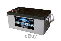 LEOCH GTP12-260 12v 260AH Leisure, Solar, Wind and Off-grid GEL Battery
