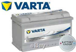 LFD90 Varta Professional DC Leisure/Caravan/Motorhome Battery 12V 90Ah