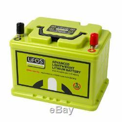 LIFOS Lightweight 12v Lithium Ion Battery 68Ah Leisure Caravan Motorhome Marine