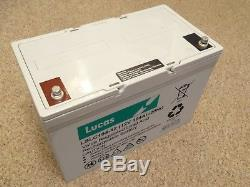 LSLC104-12 Lucas Numax Mobility AGM Leisure Battery 12V 104Ah (SLC104-12)