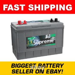 LUCAS 105Ah LX31MF ULTRA DEEP CYCLE Leisure Battery 500 cycles 3YEAR Wty