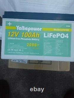 LiFeP04,12v Lithium Iron Phosphate Battery 100ah For Leisure Caravan/Motorhome