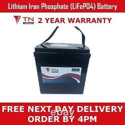 LiFePo4 126Ah Leisure Battery 12.8V Lithium Iron 125Ah Heavy Duty Long Life