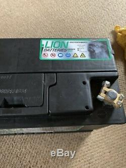 Lion Leisure Battery 12v Brand New 679 110ah EN 680 CCA