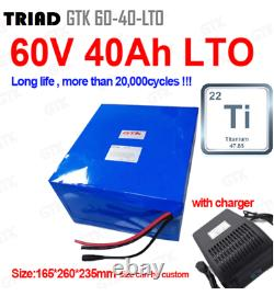Lithium Titanate Titanium Oxide Battery for Off-Grid Leisure and Backup Power