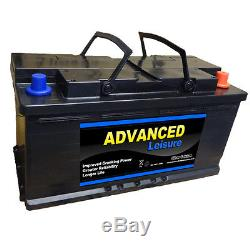 Low Height Leisure Battery for Motorhome Advanced LP125 12v 125ah 1000cca