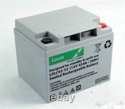 Lucas 12V 42AH (38AH 40AH) AGM/GEL Leisure & Mobility Application Battery
