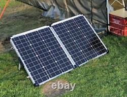 Lucas 12v leisure battery and solar panel charging unit