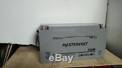 MASTERVOLT AGM 12v 160AH LEISURE / SOLAR BATTERY / INVERTER