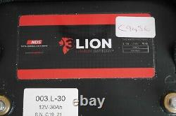 NDS Lion L30 LiFePo4 30Ah Lithium Battery Heavy Duty Long Life Leisure