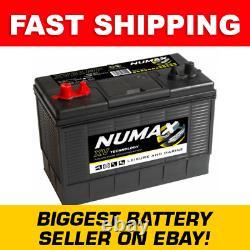 NUMAX 105ah Leisure/ caravan/ boat / Marine / 4x4 Winch Battery XV31MF CXV