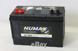 NUMAX 12V 120AH Deep Cycle Battery XV35MF Leisure Caravan Battery 500 Cycles