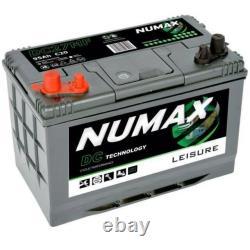 New Numax DC31MF 12V 105Ah Sealed Leisure Battery