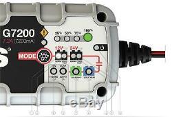 Noco G7200 Smart Battery Charger 12v / 24v for Leisure Batteries