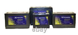 Non Spill AGM12v120ah Sealed Dual Deep Cycle and Start Marine / Leisure Battery