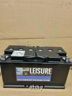 Non Spill AGM / GEL 12v Massive 130 ah Sealed Marine / Leisure Battery